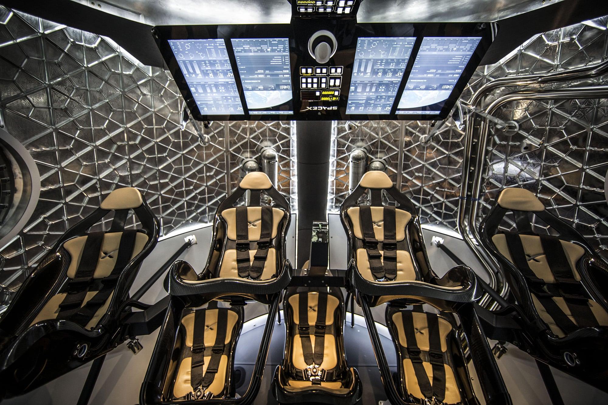 Dragon V2 naprednija je verzija bespilotnog broda Dragon (Credit: SpaceX)