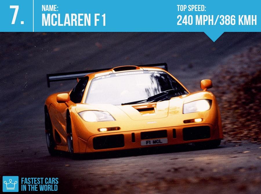 McLaren F1 (Credit: Alux.com)