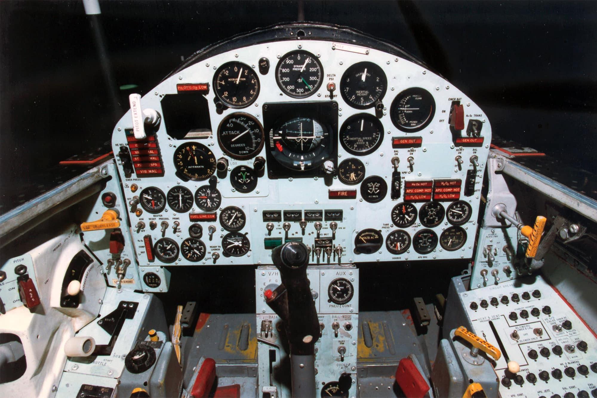 Zrakoplovom X-15 letio je i Neil Armstrong (Credit: USAF/NASA)