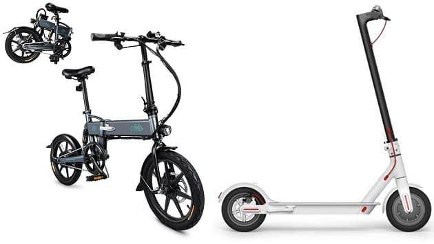 Električni romobil Xiaomi Mijia i električni bicikl Fiido D2 po sniženim cijenama