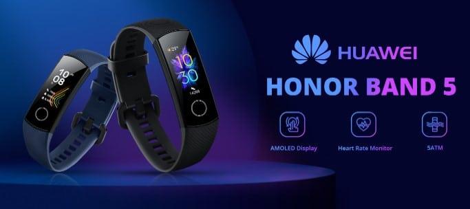 Huawei Honor Band 5 za samo 37,86 eura na Geekbuyingu