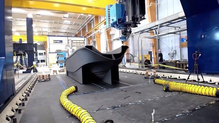 Najveći 3D printer svijeta isprintao brod