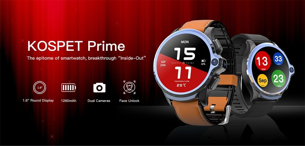 KOSPET Prime pametni sat – global launch na Gearbestu