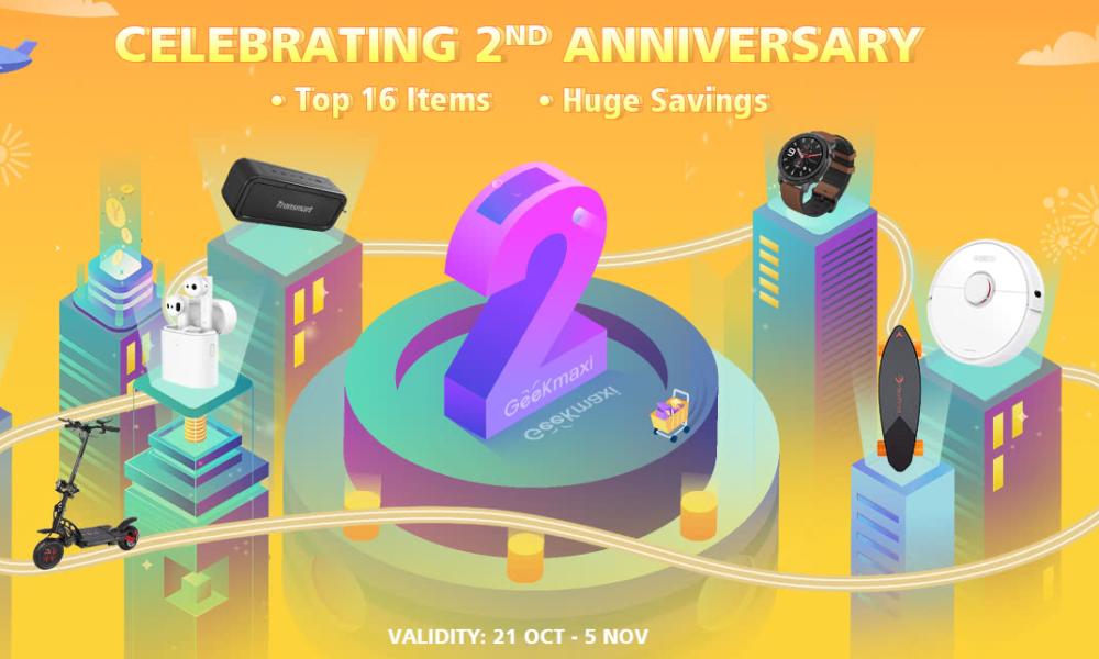 Geekmaxi rasprodaja povodom druge godišnjice postojanja