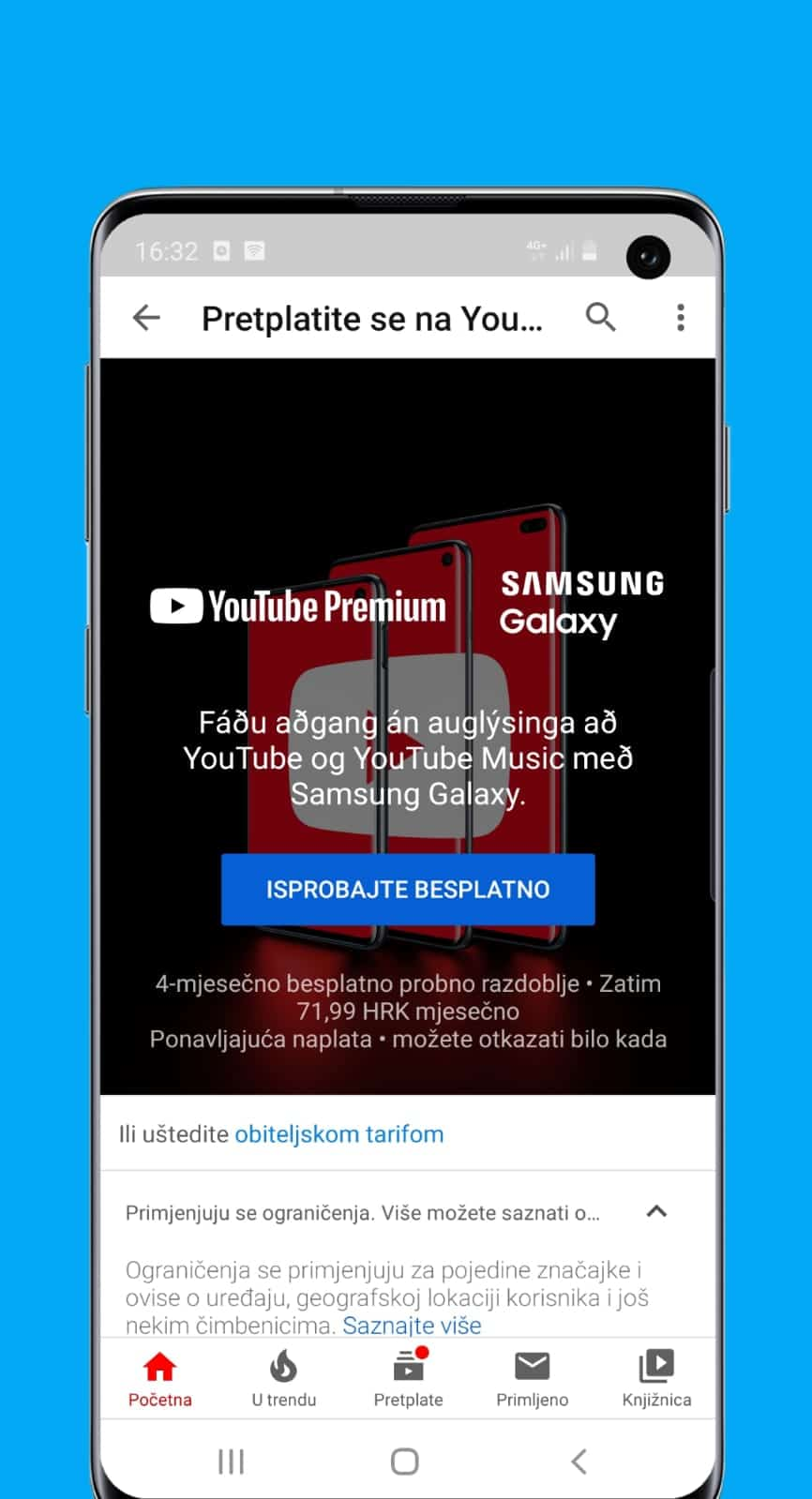 kako prestati objavljivati oglase na youtube-u