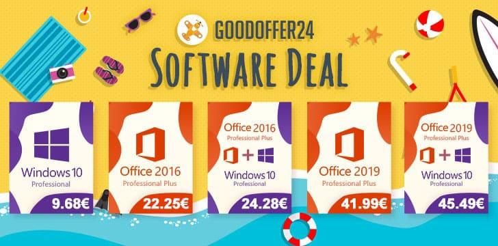 Najpovoljnije cijene na Goodoffer24 – Windows 10 Pro za samo 9,68€
