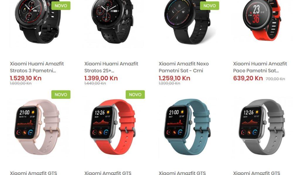 U Smartus.hr webshopu započelo je tjedno sniženje popularnih Amazfit satova!