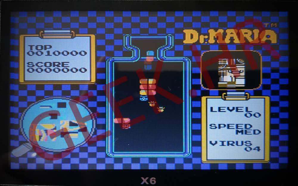 PSP X6 retro konzola dr Mario