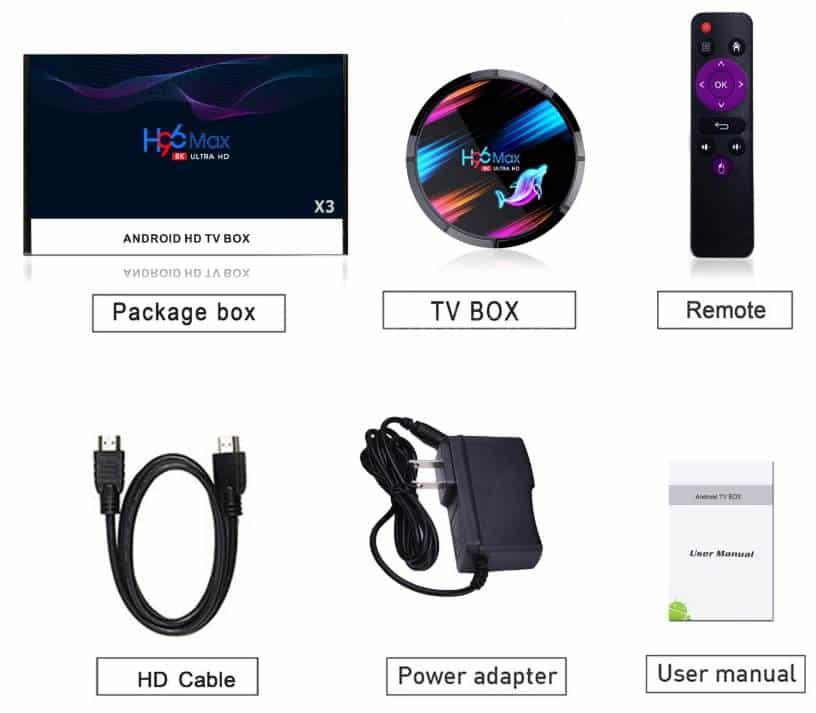 H96 Max X3 TV BOX za vrhunsku kvalitetu 8K