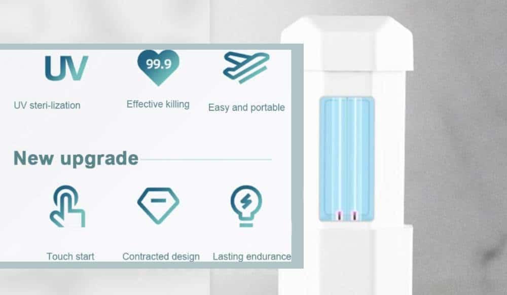 UV svjetiljka protiv mikroba
