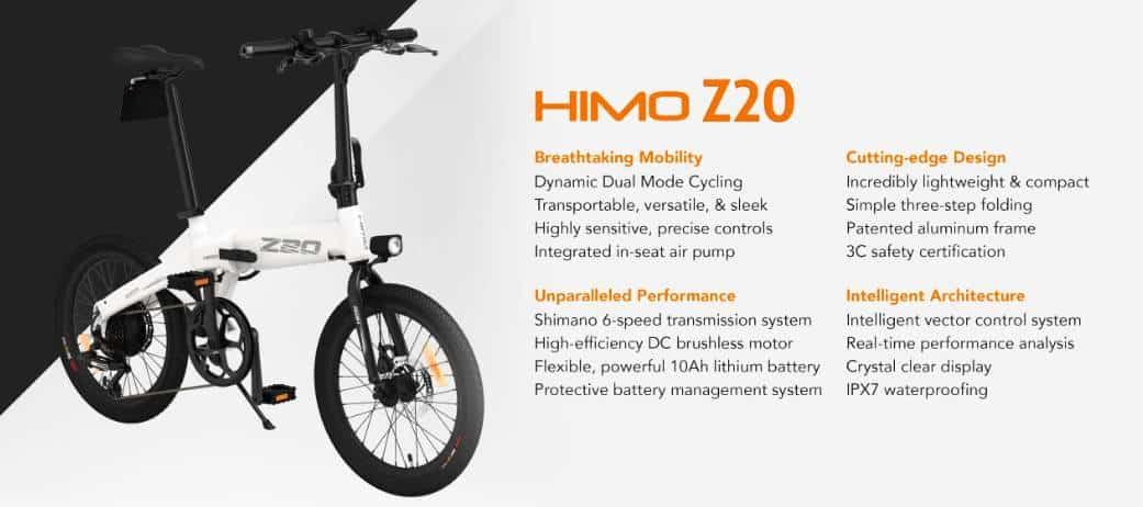 Električni bicikl HIMO Z20