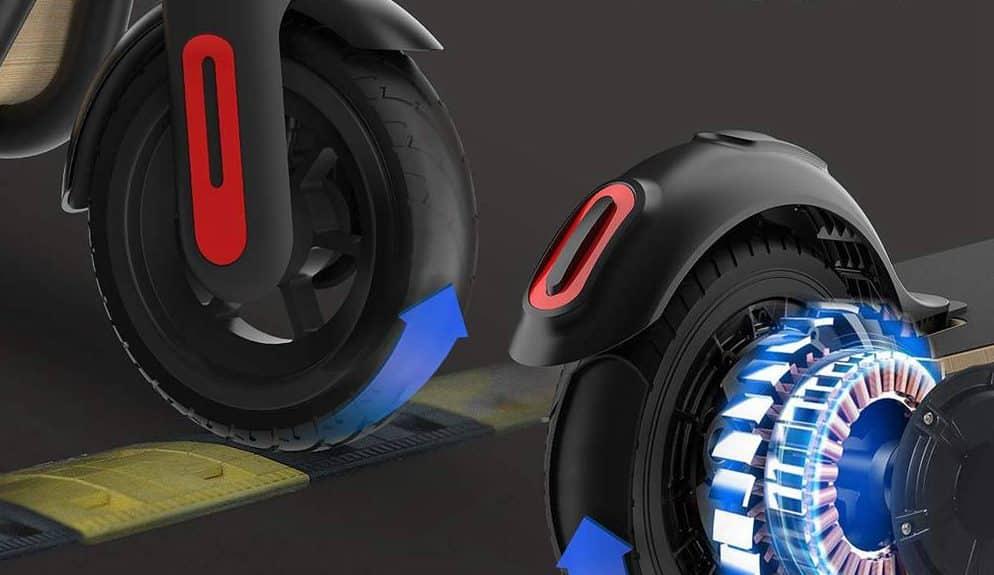 megawheel električni skuter