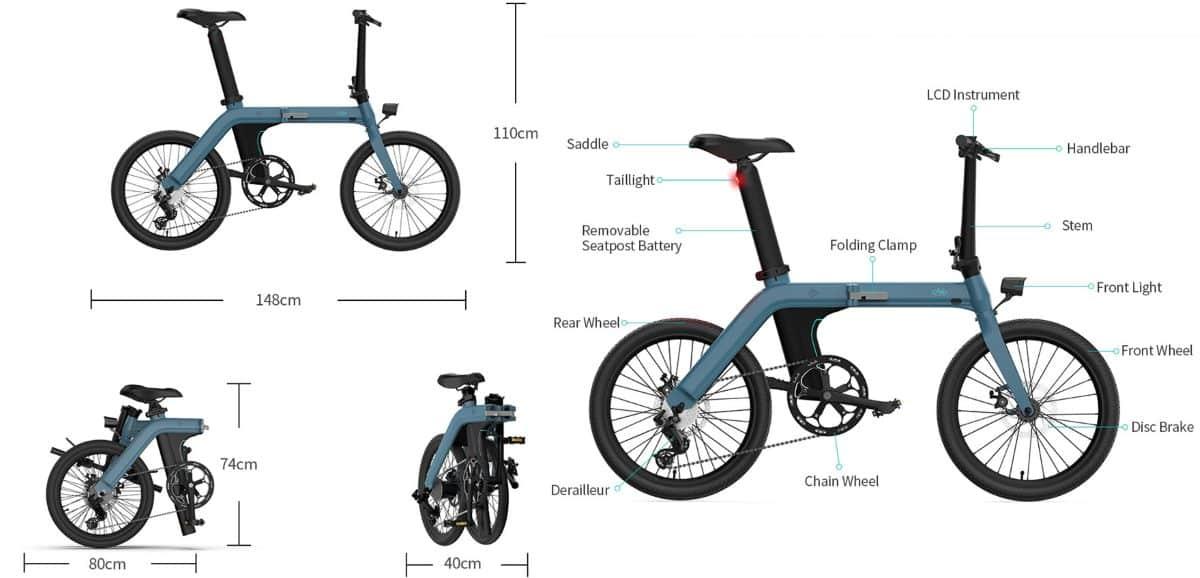 Električni bicikl FIIDO D11