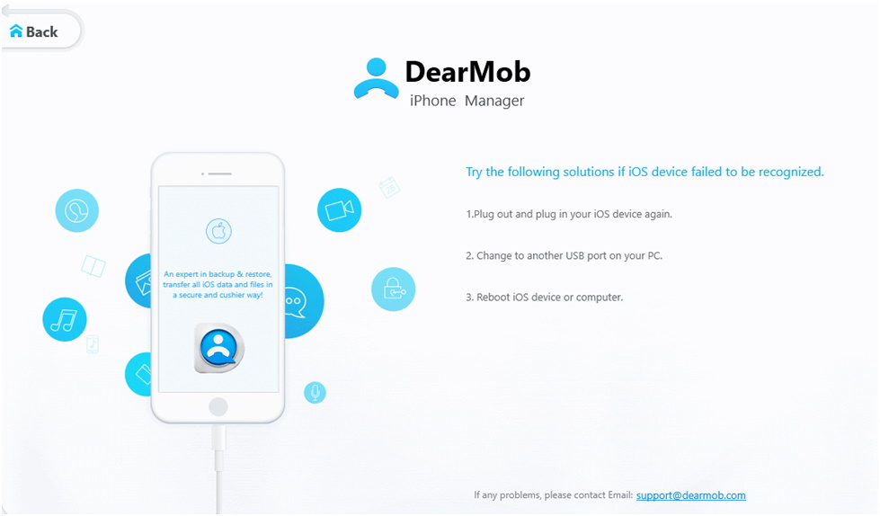 iPhone manager DearMob