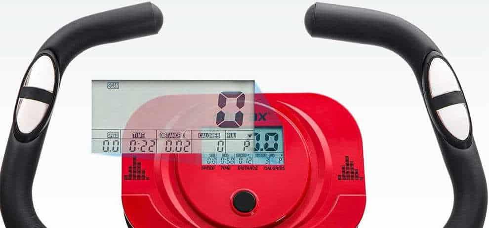 Merax X-Bike Sobni bicikl LCD zaslon