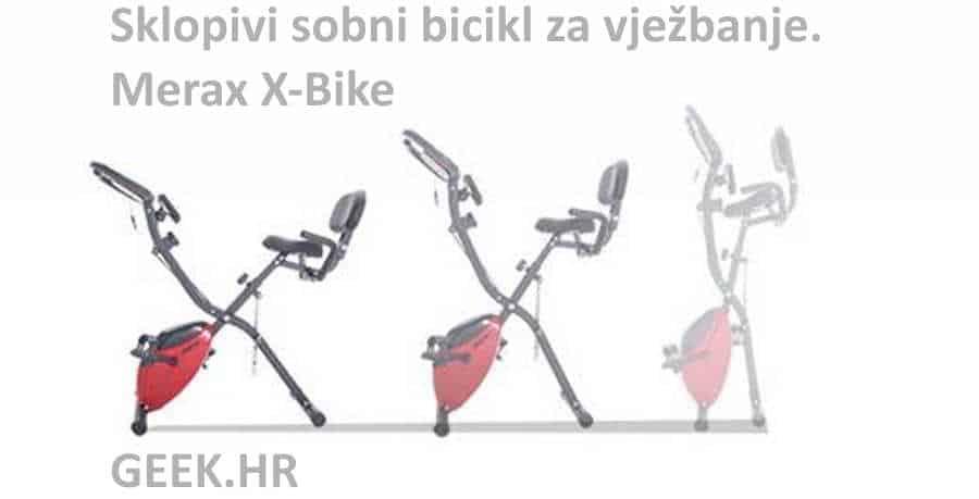 Sklopivi fitness bicikl za vježbanje