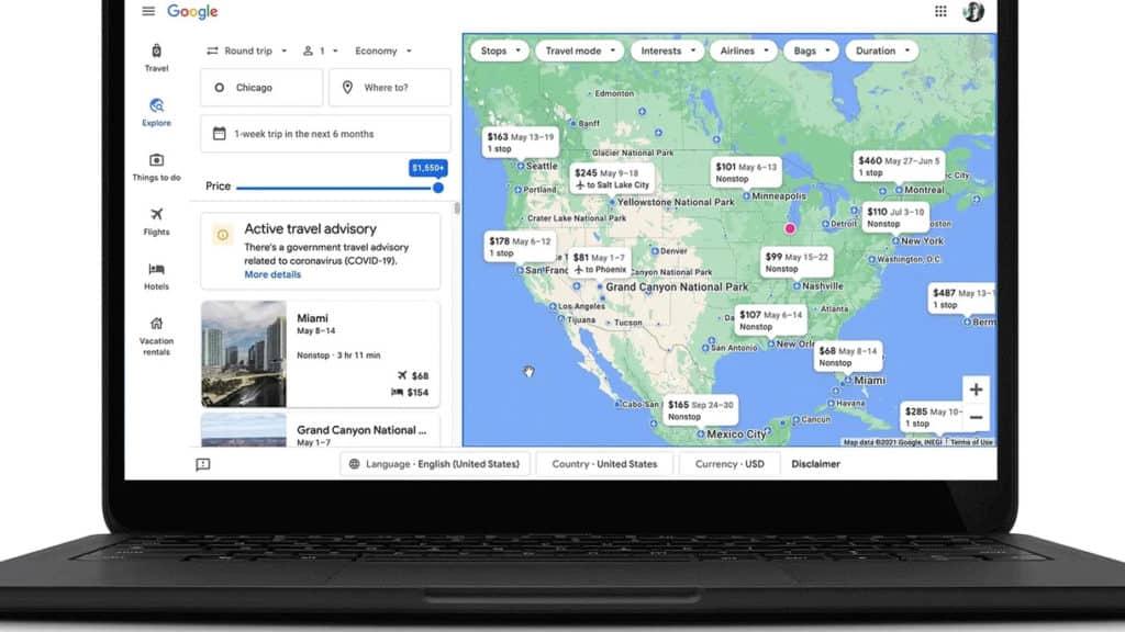 Google će kod pretraživanja putovanja prikazivati informacije vezane za COVID-19