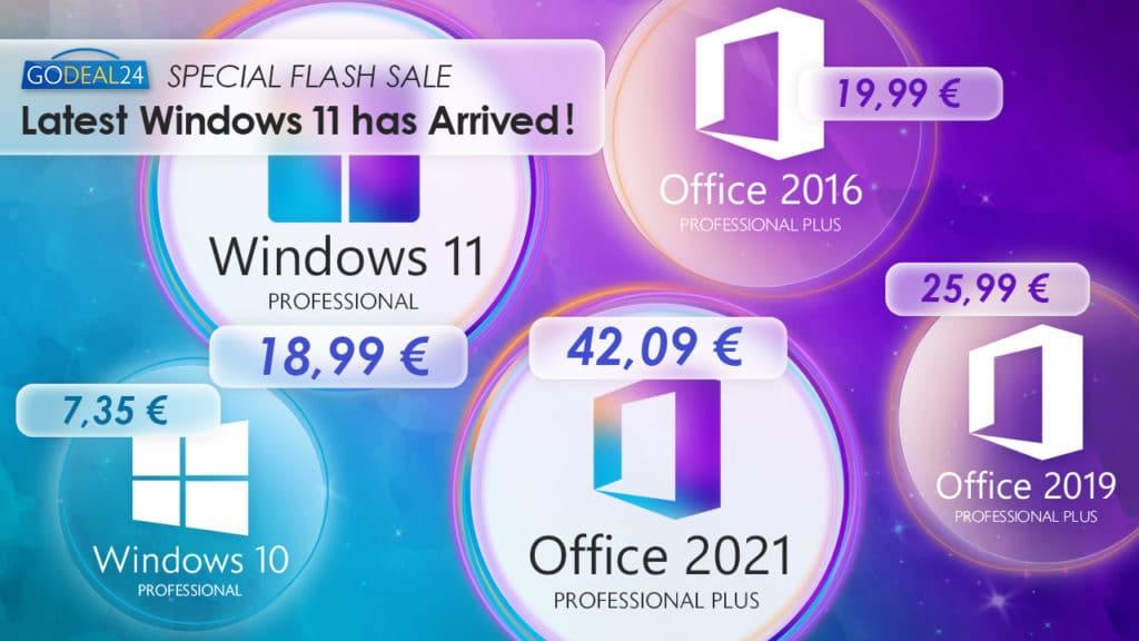 Stigao je Windows 11, a Godeal24 nudi najjeftinije načine kako ga nabaviti