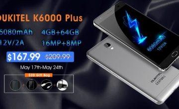 Oukitel K6000 Plus dobija softversku nadogradnju ususret flash prodaje