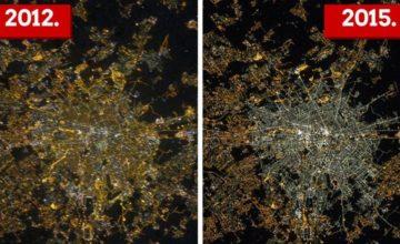 Fotografije iz svemira otkrivaju lošu stranu štedljivih LED-ica