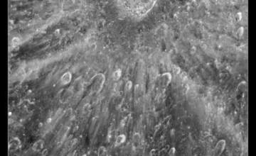 Mjesečev krater Tycho - Hubble