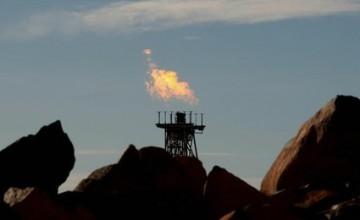 Ova plinska baklja na području nalazišta Pilbara nije mogla gorjeti prije 3,5 milijarde godina zbog nedostatka kisika na Zemlji