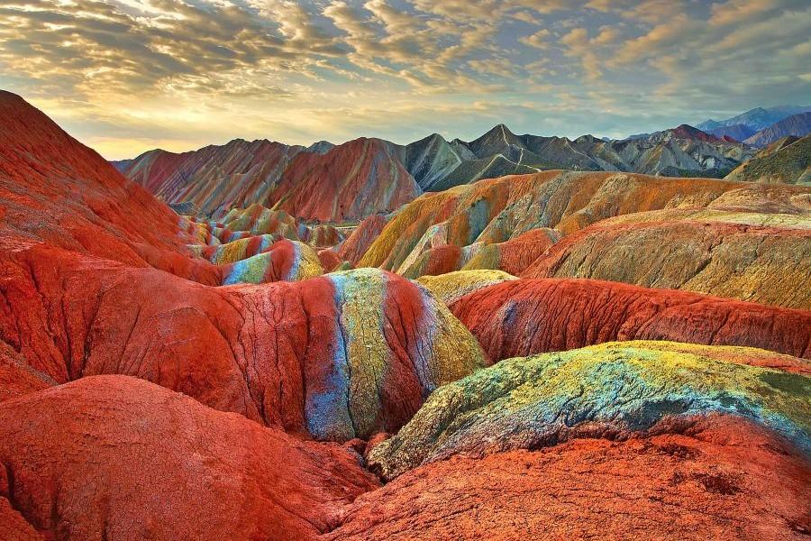 Zhangye Danxia – Prelijepa šarena planina u Kini