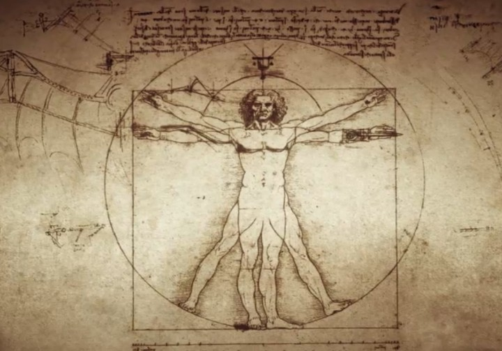 Vitruvijev čovjek. (Credit: Da Vinci)