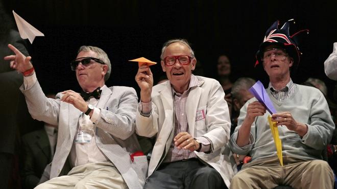 Robert Kirshner, Dudley Herschbach, Rich Roberts
