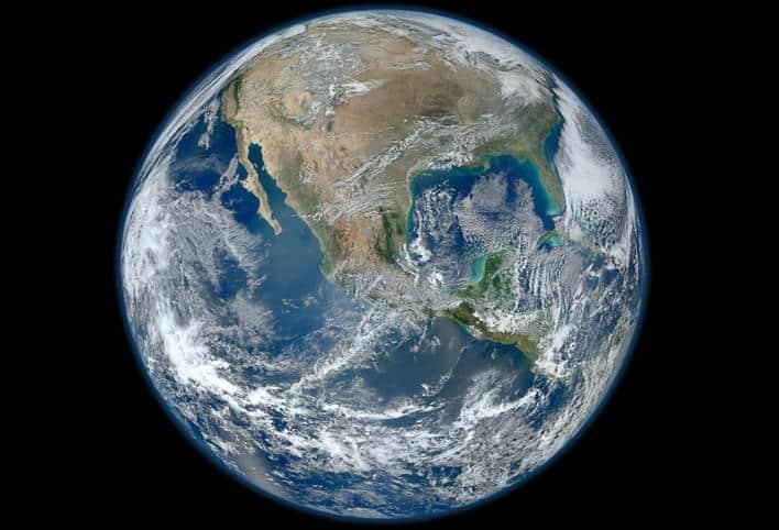 Planet Zemlja (Credit: NASA)