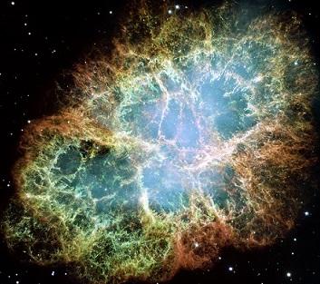 M1, Crab Nebula uslikana Hubble svemirskim teleskopom