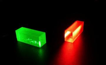 Kristal sadržava informaciju iz fotona teleportiranu preko 25 km Image: University of Geneva