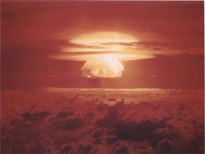 Projekt Castle Bravo: test termonuklearnog oružja (izvor: Wikipedia)
