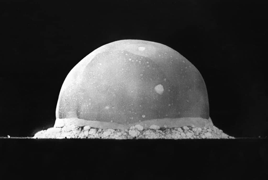 Projekt Trinity: prva nuklearna eksplozija (izvor: WIkipedia)