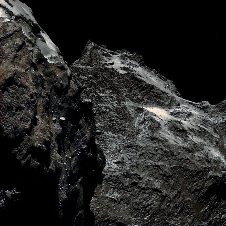 rosettin komet