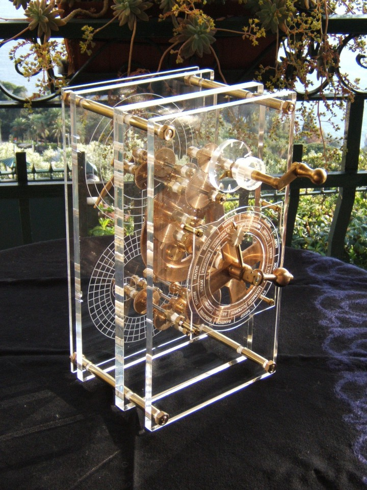 Model Antikitera mehanizma iz 2007. godine