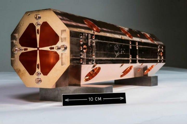 Prvi od četiri minijaturna modula je završen, navode iz CERN-a [CERN]