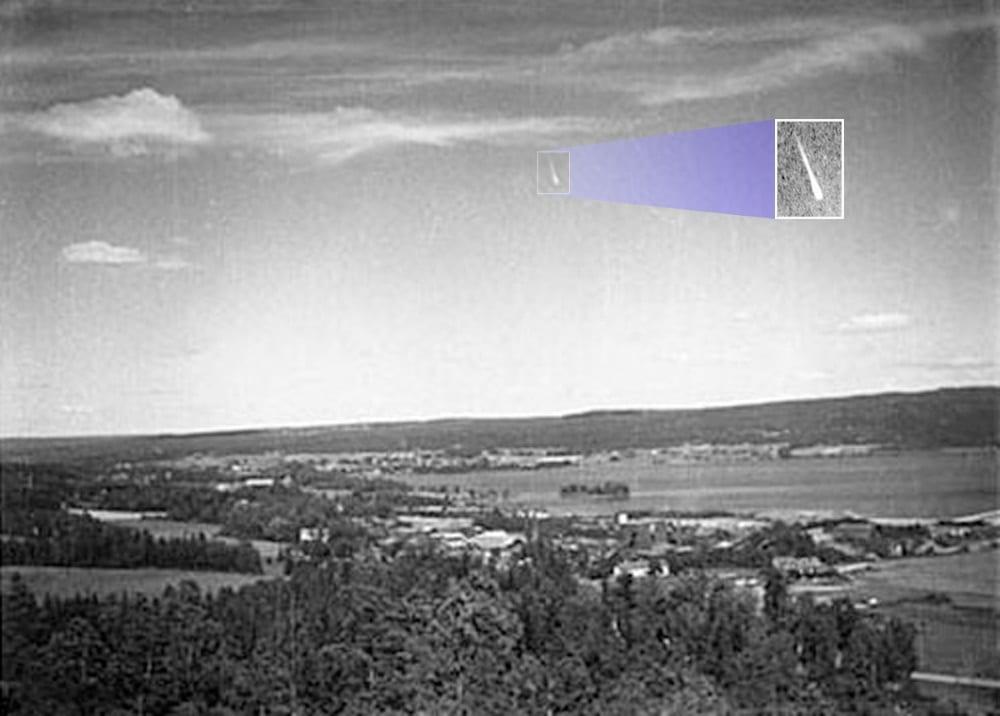 Jedna od rijetkih fotografija avetinjskih raketa (Credit: historicwings.com)