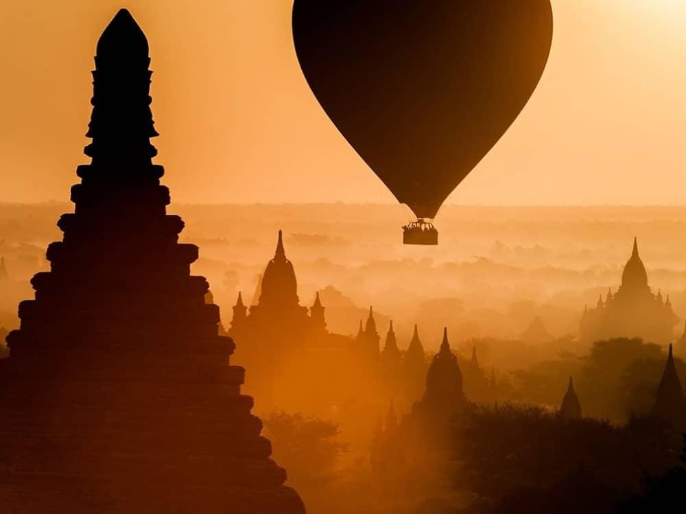 Izlazak Sunca iznad Mijanmara
