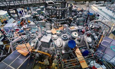 wendelstein fuzijski reaktor