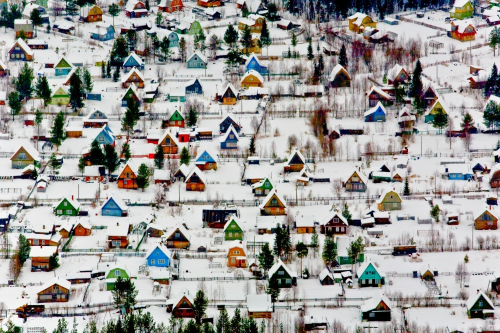 Zimsko odmaralište pokraj Arhangelska