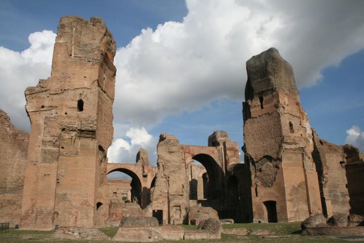 Ostaci karakalinih termi u Rimu (FOTO: Wikipedia/Agnete)