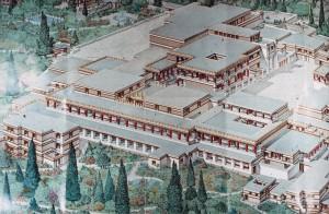 Rekonstrukcija izgleda palače u Knososu (FOTO: StudyBlue.com)