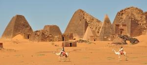 ostaci piramida meroe kus