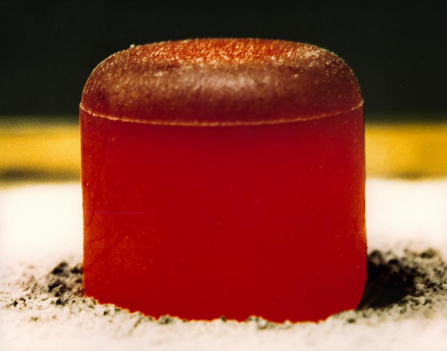 Peleta plutonija-238 (FOTO: NASA)