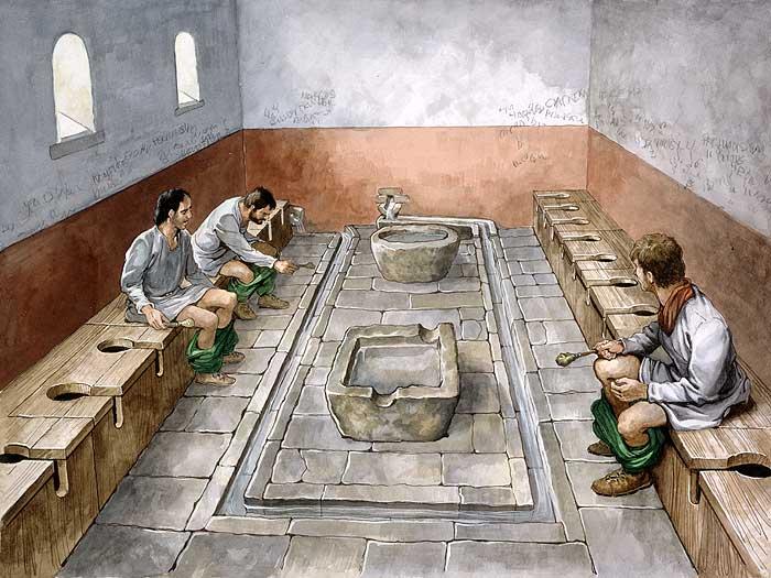 Trenuci opuštanja u rimskom zahodu (FOTO: Rome Across Europe)