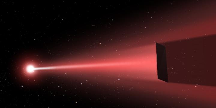 Skica laserom pogonjene letjelice (FOTO: USCB Experimental Cosmology Group)