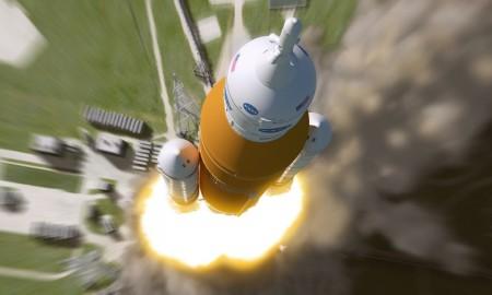 sls liftoff