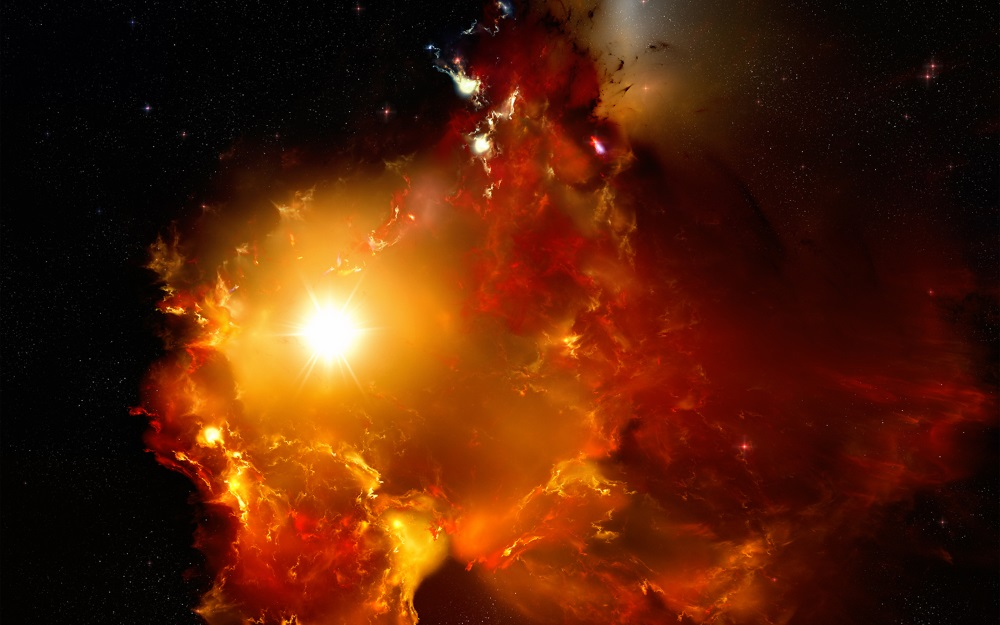 Naš je sustav u više navrata susretao međuzvjezdane oblake (izvor: aswathigalaxy.wordpress.com)