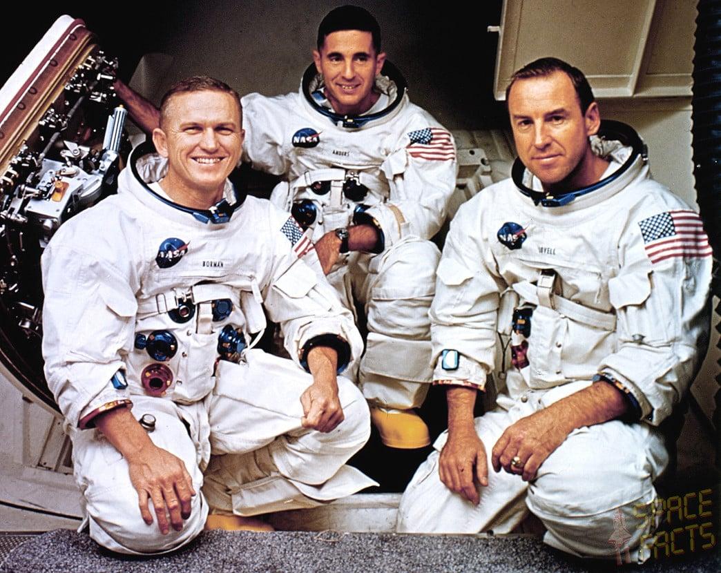 Posada misije Apollo 8 prva je prošla kroz Van Allenov radijacijski pojas (Credit: Spacefacts.de)